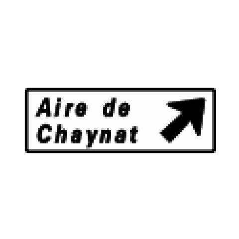 Signalisation : Panneaux de direction D32a