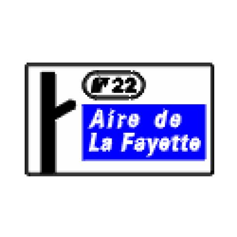Signalisation : Panneaux de direction D51cr