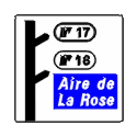 Signalisation : Panneaux de direction D51dr