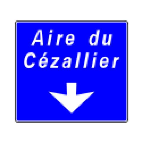 Signalisation : Panneaux de direction Da32b