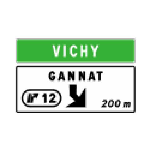 Signalisation : Panneaux de direction Da41d