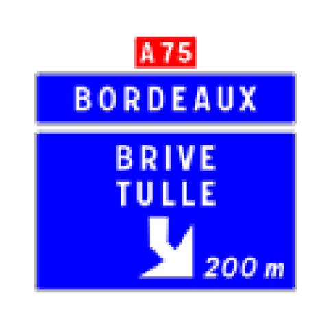 Signalisation : Panneaux de direction Da41f