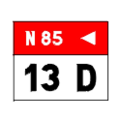 Signalisation : Panneaux de localisation E52c