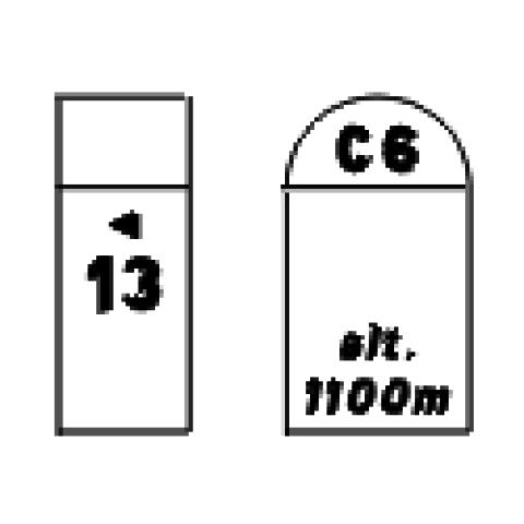 Signalisation : Panneaux de localisation E54b