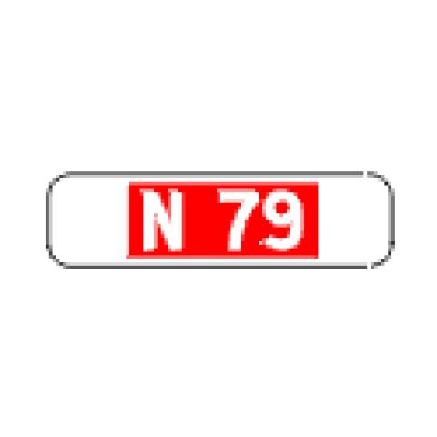 Signalisation : Panonceau M10a1