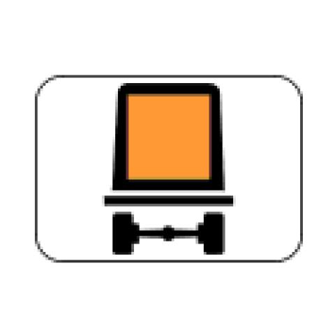Signalisation : Panonceau M4m