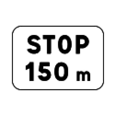 Signalisation : Panonceau M51