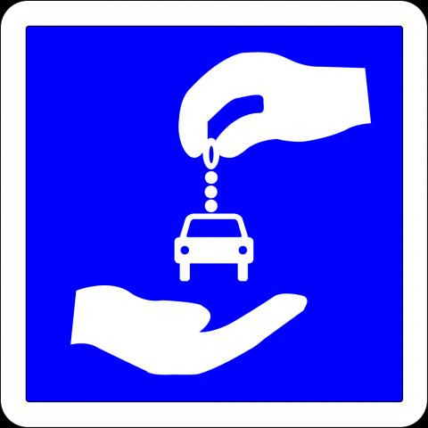 Panneau indication C9