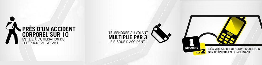 accidentologie téléphone au volant
