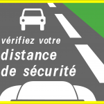 Panneau d'information de sécurité SR2a