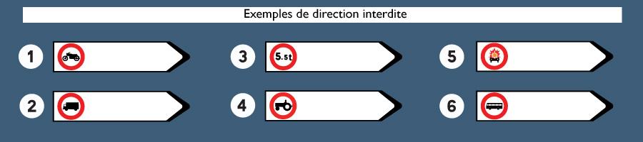 direction interdite
