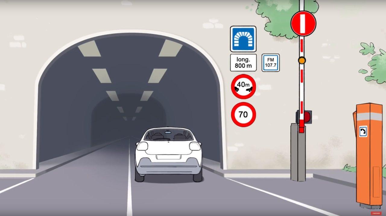 circulation dans les tunnels