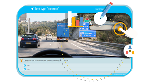 Tests examen gratuit code de la route