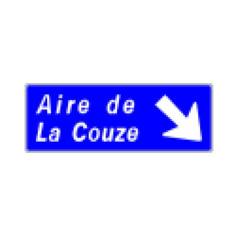 Signalisation : Panneaux de direction D32b