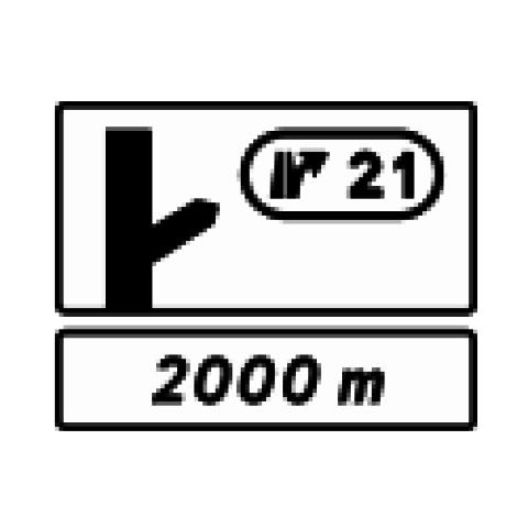 Signalisation : Panneaux de direction D51c