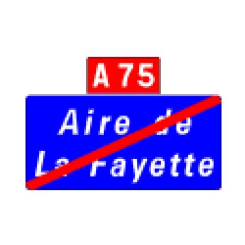 Signalisation : Panneaux de localisation E35b