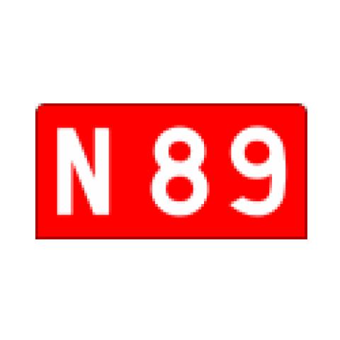 Signalisation : Panneaux de localisation E42