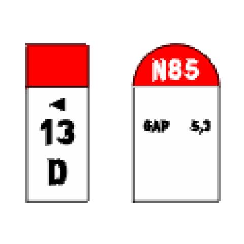 Signalisation : Panneaux de localisation E52a