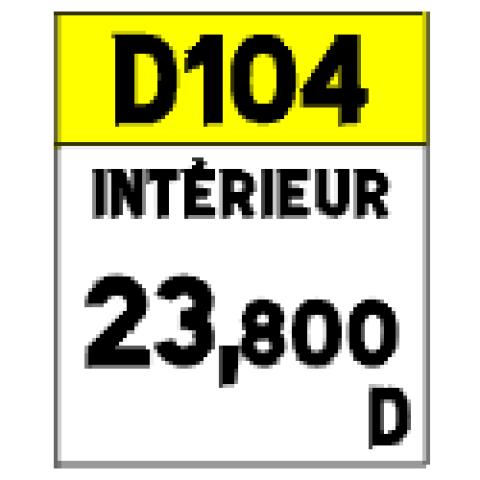 Signalisation : Panneaux de localisation E53c