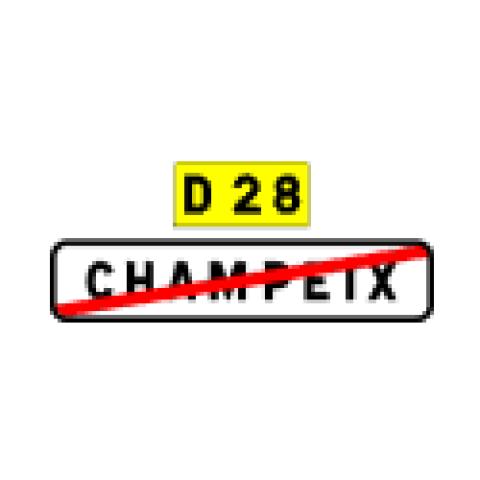Signalisation : Panneaux de localisation EB20