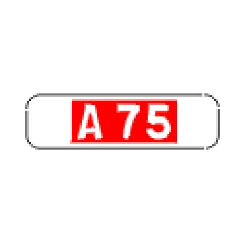Signalisation : Panonceau M10a