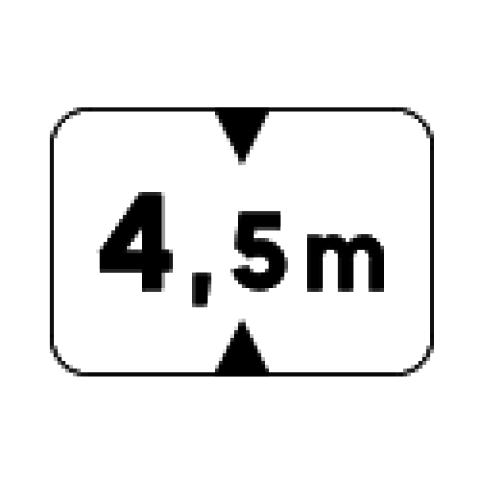 Signalisation : Panonceau M4v