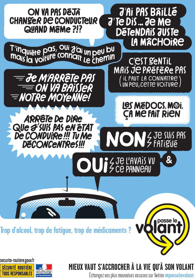 alcool médicaments, fatigue, code de la route