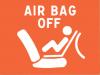témoin airbag passagé désactivé