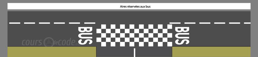 Voie de bus