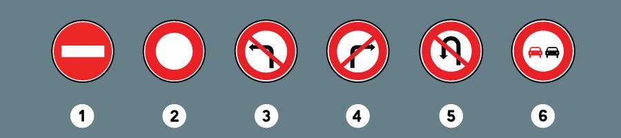 les panneaux interdiction 3