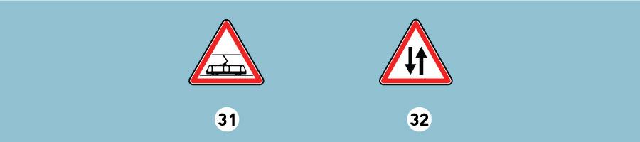 panneaux de danger