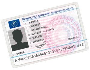 modèle nouveau permis de conduire